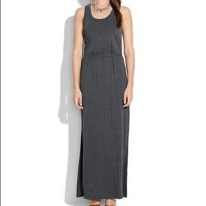Madewell Gray Sleeveless Gray Scoop Tankdress  XL